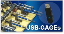 ペンシル型高精度デジタル側長器 USB-GAGEs