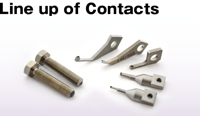 line up of contact