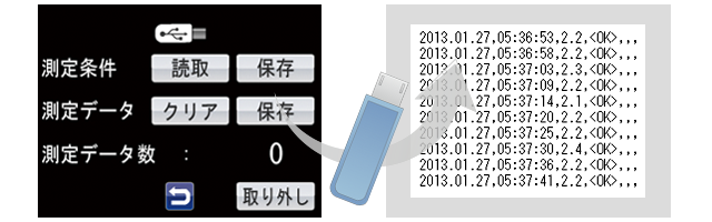 簡単データ保存