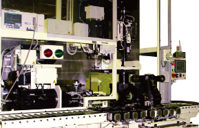 Carrier alignment measuring machine
