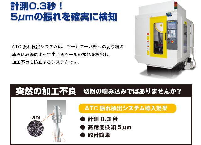 ATC振れ検出システム