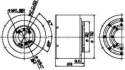 中容量バランスヘッド 非接触式図面
